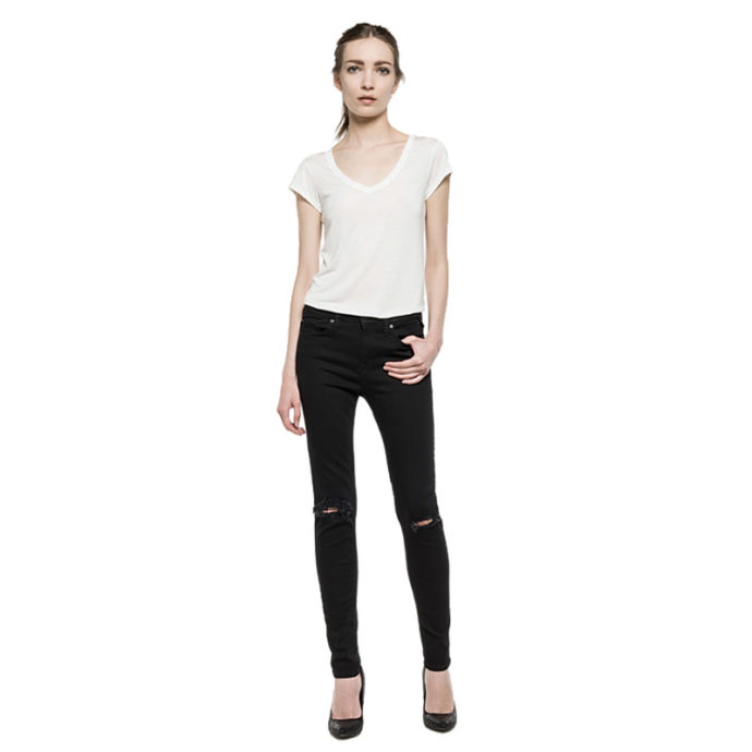 REPLAY JOI RIPPED JEGGINGS ΓΥΝΑΙΚΕΙΟ ΤΖΙΝ