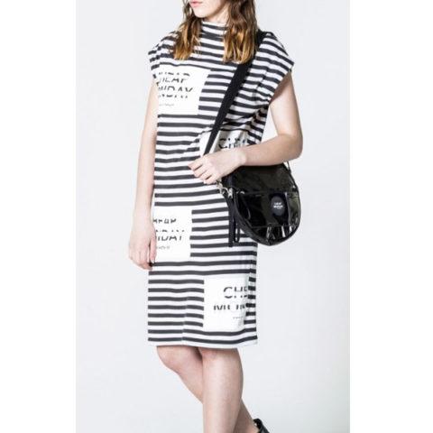 Cheap Monday φόρεμα Stripe logo