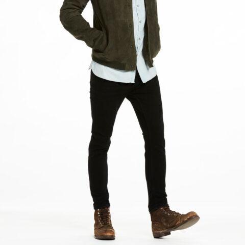 SCOTCH AND SODA Dart - Black Skinny Fit jean