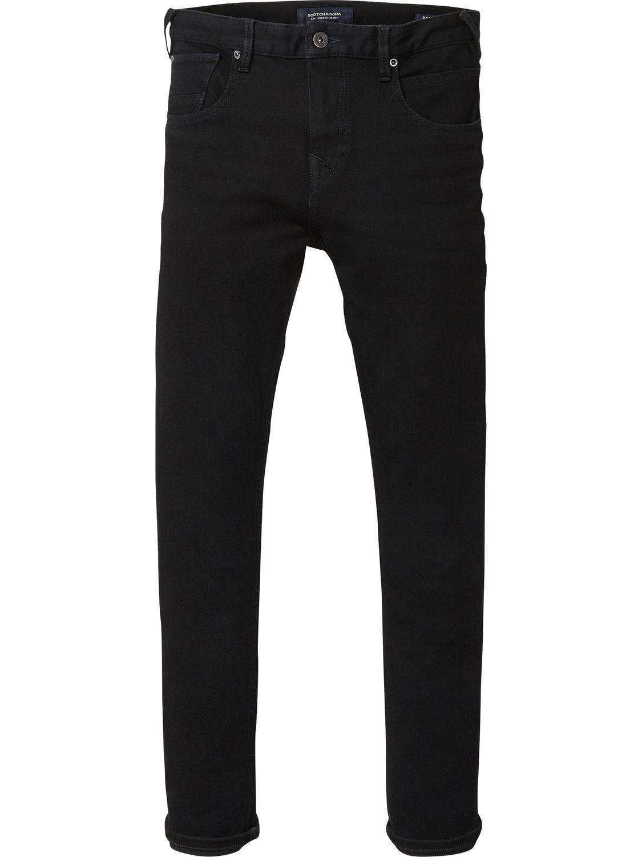 SCOTCH AND SODA Dart - Black Rinse Super Skinny Fit jean