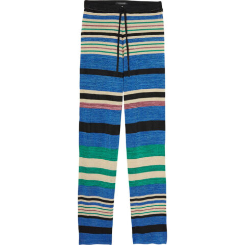 MAISON SCOTCH AND SODA Striped Knitted Trousers