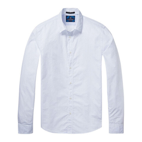 Men's classic poplin shirt by SCOTCH AND SODA