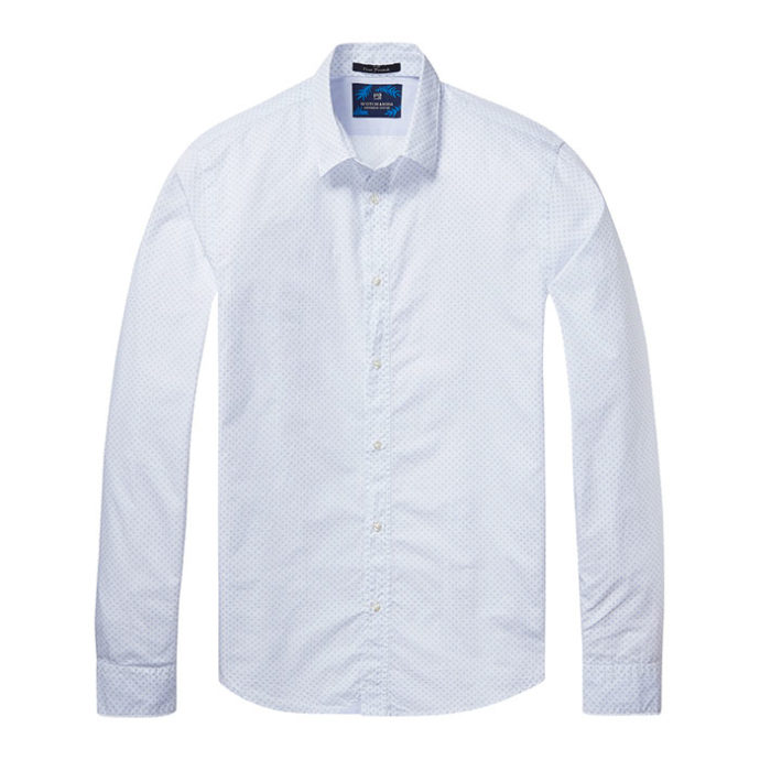Men's classic poplin shirt by SCOTCH AND SODA