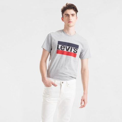 LEVI'S ORIGINAL MEN'S T-SHIRT SPORTSWEAR LOGO GRAPHIC 39636.