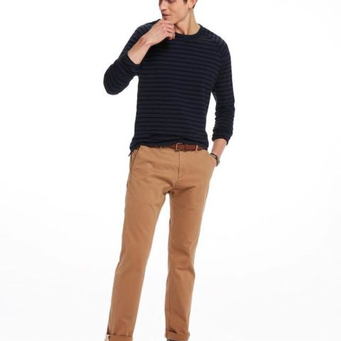 Ανδρικό Παντελόνι Chinos Slim Fit by Scotch and Soda