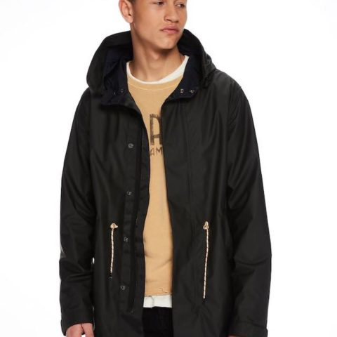 Rubber Coated Parka by Scotch and Soda.