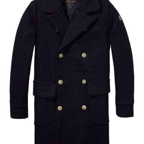 Long Captain Coat by Scotch and Soda
