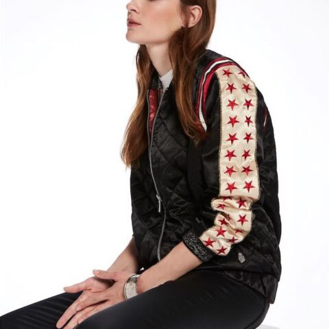 Reversible Artwork Bomber by Scotch & Soda Maison.
