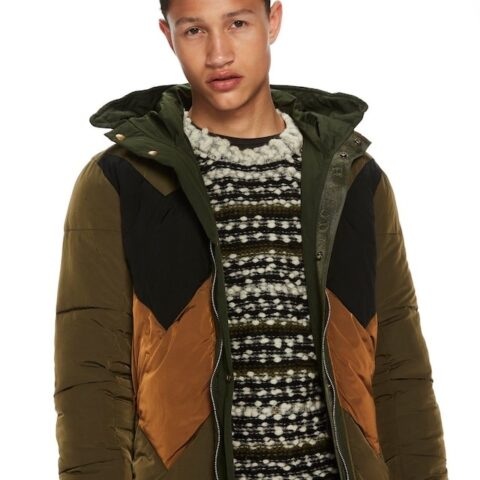 Men's Reversible Parka by Scotch & Soda.