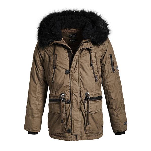 Khujo Men's Jacket Ference-Ανδρικό Μπουφάν