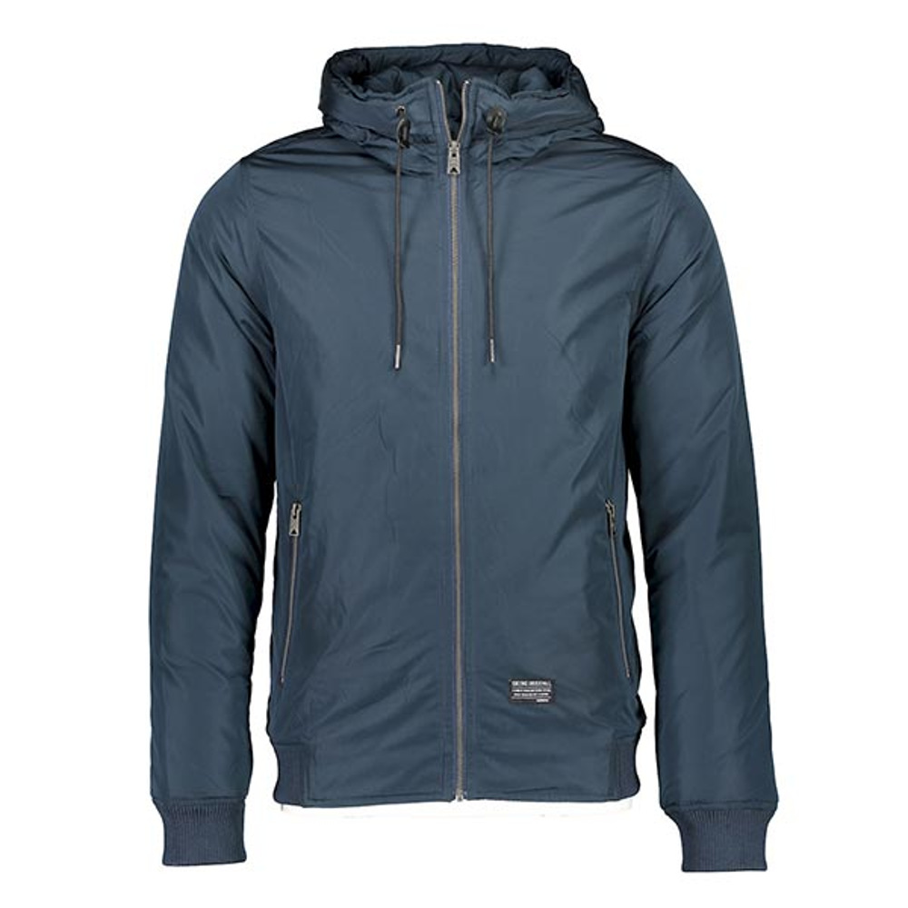 Men's Hooded Bomber Jacket by Shine Original.