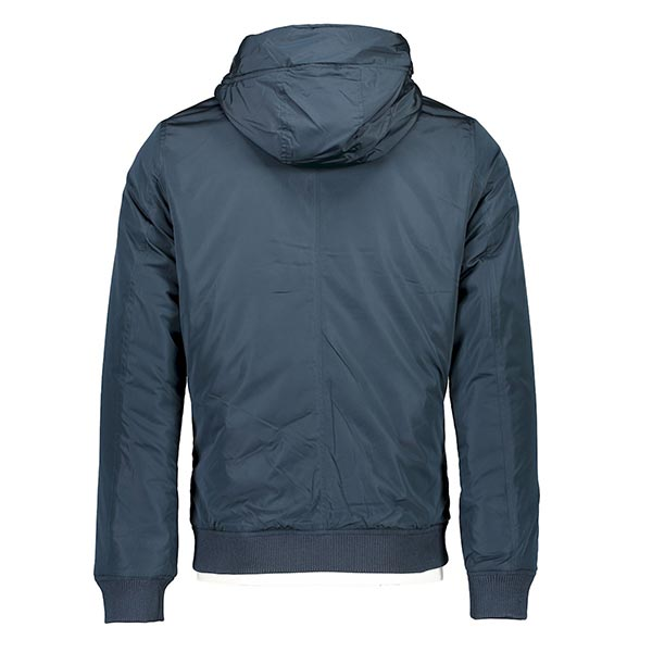 Men's Hooded Bomber Jacket by Shine Original.