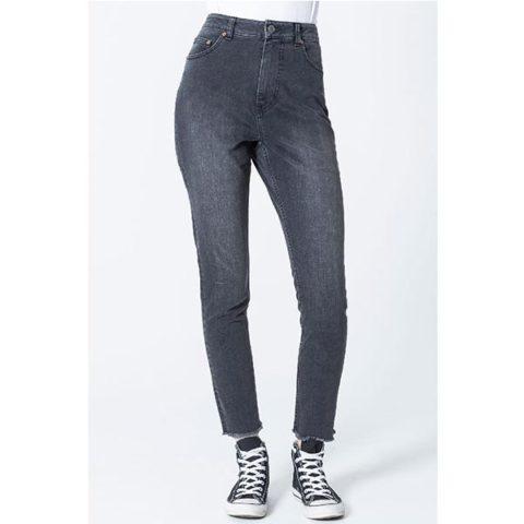 Women's Donna Salt N Papper Black Jeans-Γυναικείο Τζιν