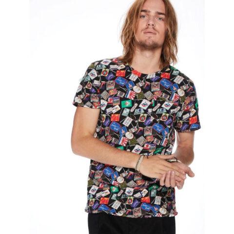 Ανδρικό Κοντομάνικο T-Shirt Scotch & Soda All-Over Printed