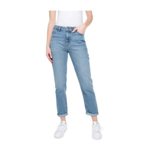 Γυναικείο Τζιν Ψηλόμεσο Ίσιο-Lee Mom Straight Jean