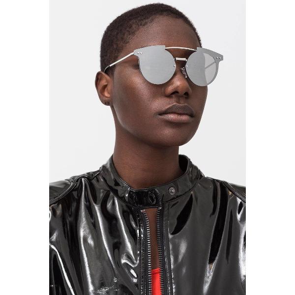 Cheap Monday Alpha Sunglasses Unisex Silver.