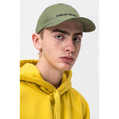 Καπέλο-Cheap Monday CM Baseball Cap Bleached Olive.
