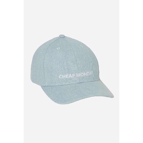 Καπέλο- Cheap Monday CM Baseball Cap Washed Blue.