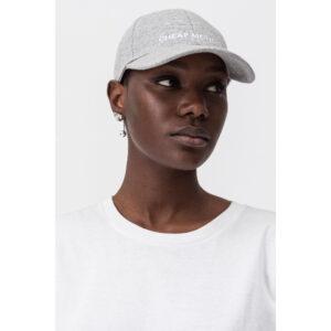 Καπέλο-Cheap Monday CM Baseball Cap Unisex Grey Melange.