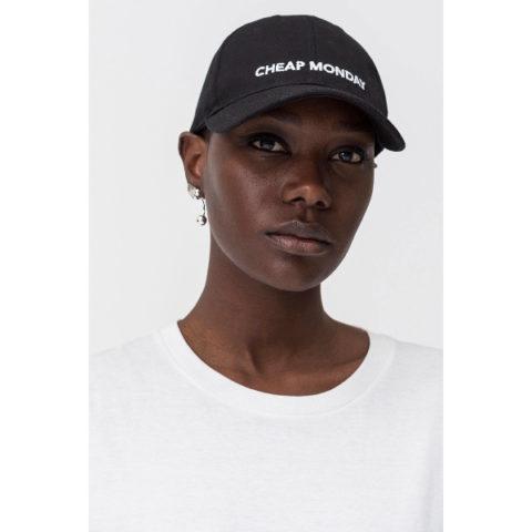 Καπέλο-Cheap Monday CM Baseball Cap Unisex Black.
