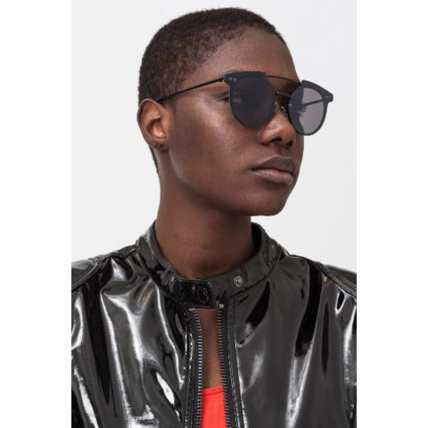 Cheap Monday Alpha Sunglasses Unisex Black.