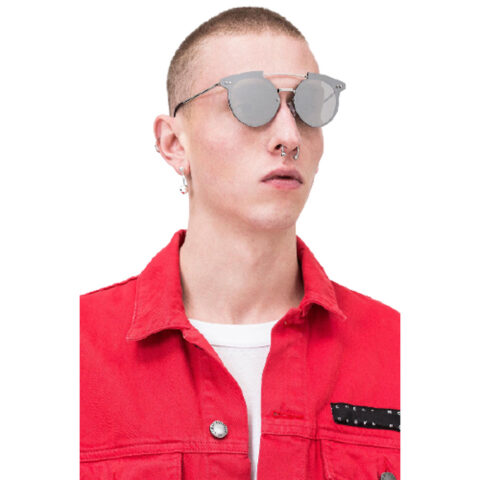 Cheap Monday Alpha Sunglasses Unisex Silver.