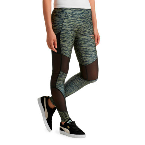 Κολάν Διαφάνεια-Puma Velvet Rope Women's Leggings.