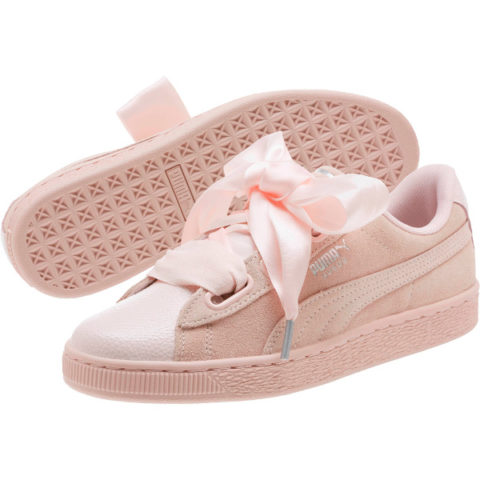 Γυναικεία Sneakers Puma Suede Heart Bubble.