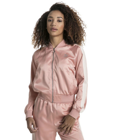 Γυναικείο Μπουφάν - Puma En Pointe Satin T7 Women's Jacket.