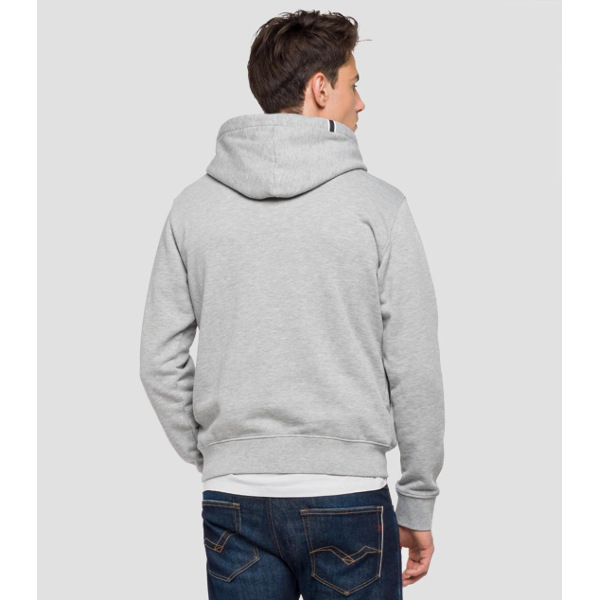221a6becb898 Ανδρικό Φούτερ Replay-HOODIE WITH PATCH - Tutto Jeans