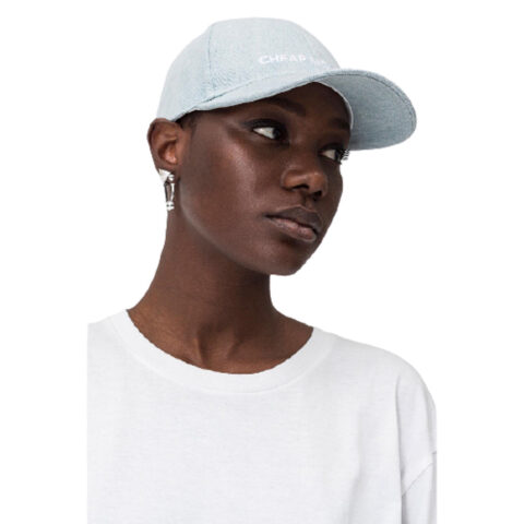 Καπέλο- Cheap Monday CM Baseball Cap Washed Blue.