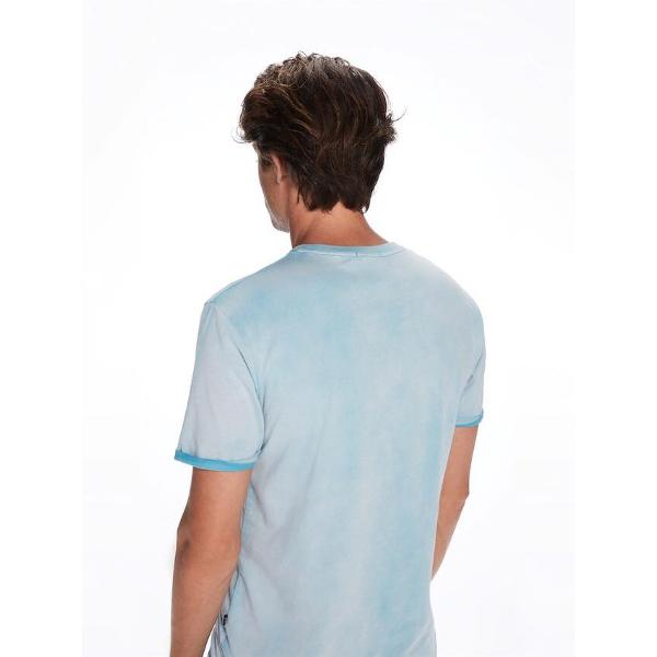 Scotch & Soda-Ανδρικό Κοντομάνικο T-Shirt Μπλε