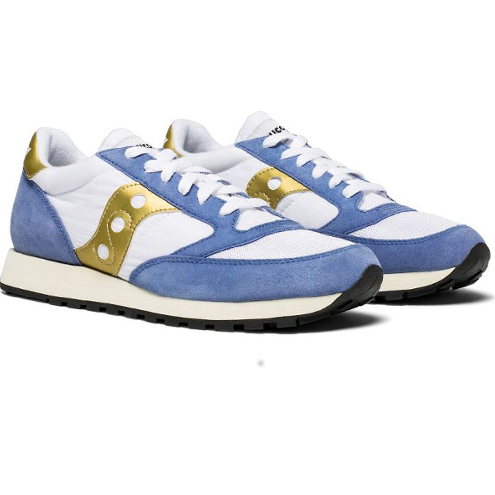 Saucony Jazz Original Vintage - Μπλε-Άσπρο-Χρυσό