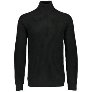 Ανδρικό Χαμηλό Ζιβάγκο Μαύρο Χοντρή Πλέξη - Tutto Jeans dff870a694c