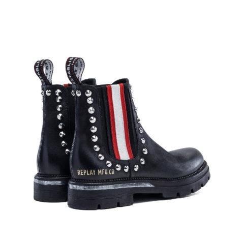Γυναικείες Μπότες Replay Rhodan Black Red