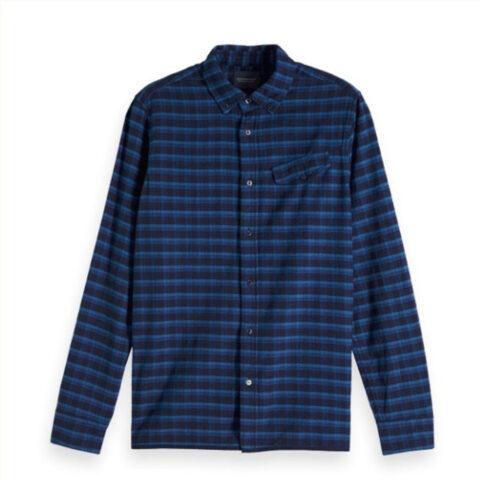 Καρό Πουκάμισο Φανέλα - Scotch & Soda Yarn-Dyed Shirt