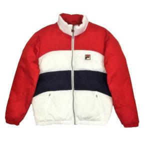 Fila Neo Men's Puffer Jacket - Colour Blocked
