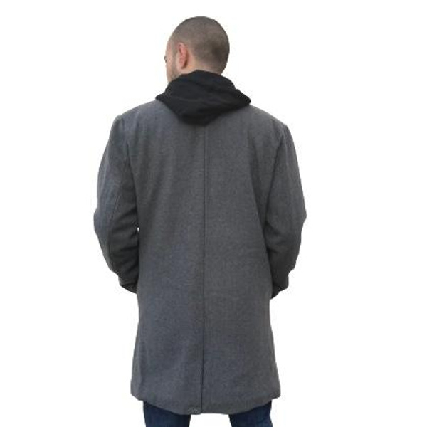 Shine original Men's Wool Mix Coat
