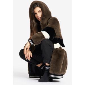 Οικολογική Γούνα-Oversized Athleisure Fake Fur Yelena