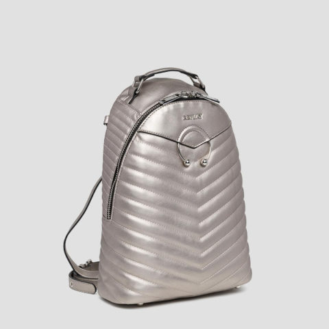 Replay Eco-Leather Soft Quilted Backpack-Γυναικεία Τσάντα