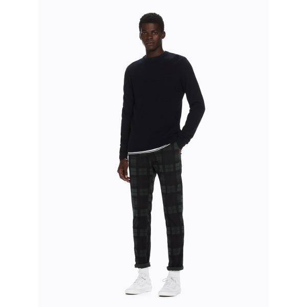 Stuart - Garment Dyed Chinos -Ανδρικό Καρό Παντελόνι