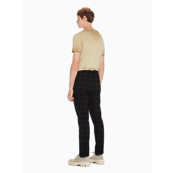 Blake - Structured Pleated Trousers - Καρό Παντελόνι