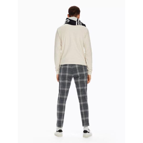 Mott - Cotton Trousers - Ανδρικό Καρό Παντελόνι