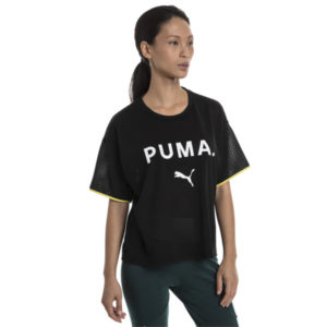 Puma Γυναικεία Φιλέ Μπλούζα-Chase Mesh