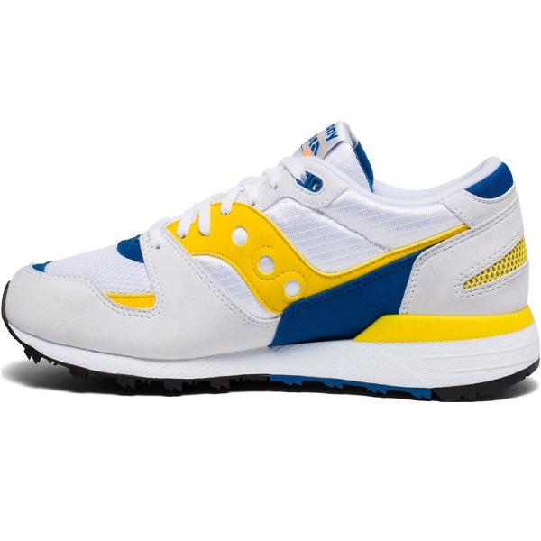 Saucony Men's Azura Footwear (S70437-1) White/Yellow