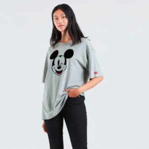 Levi's Women's Graphic Slacker Tee Mickey