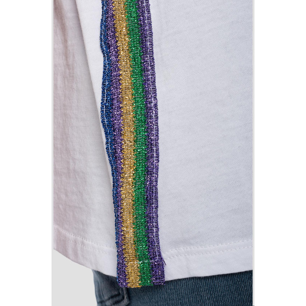 Replay Women's T-shirt Glitter Applique