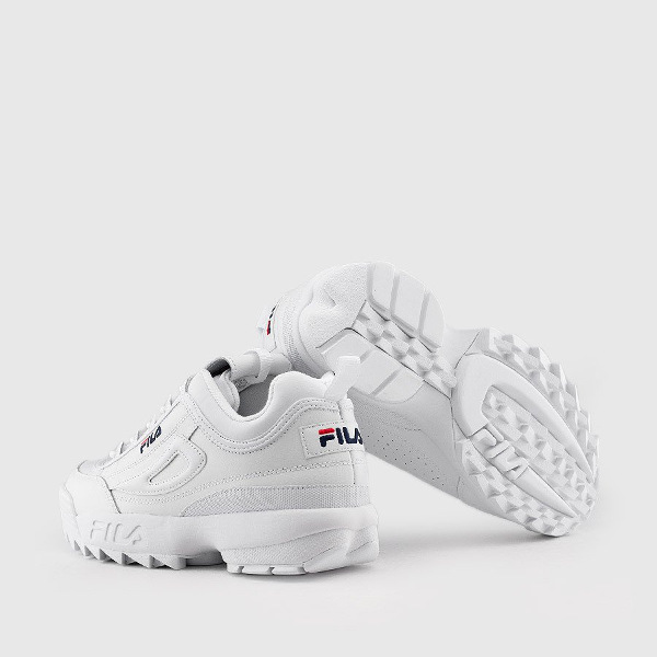 Fila Men's Disruptor II Premium White