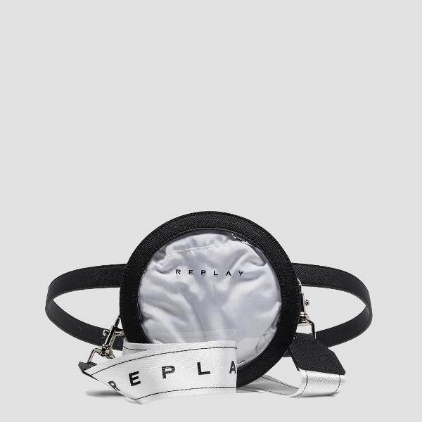 Transparent Waistbag-Replay FW3874.000.A0075
