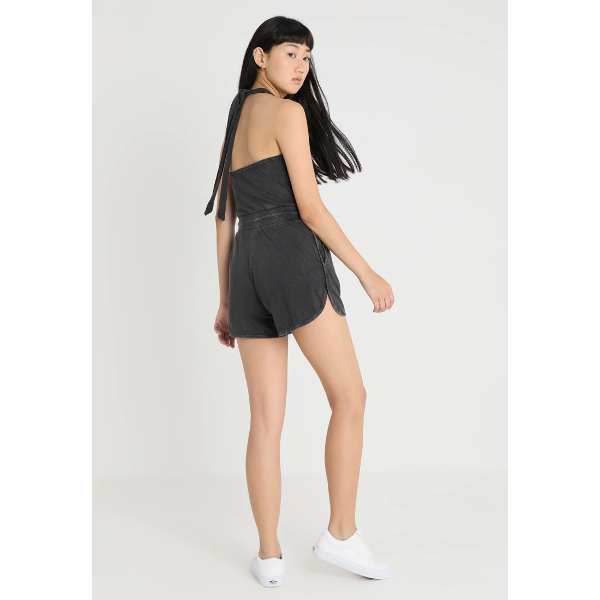 Cheap Monday Smile Wash Playsuit Black